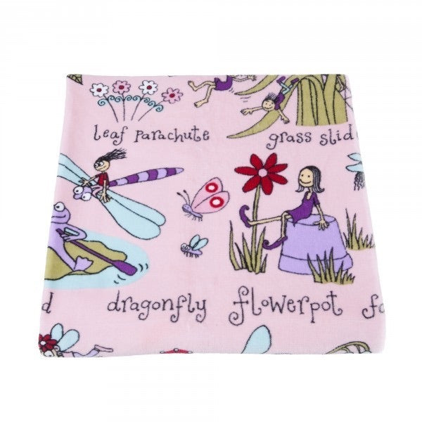 Snuggle Blanket - Secret Garden
