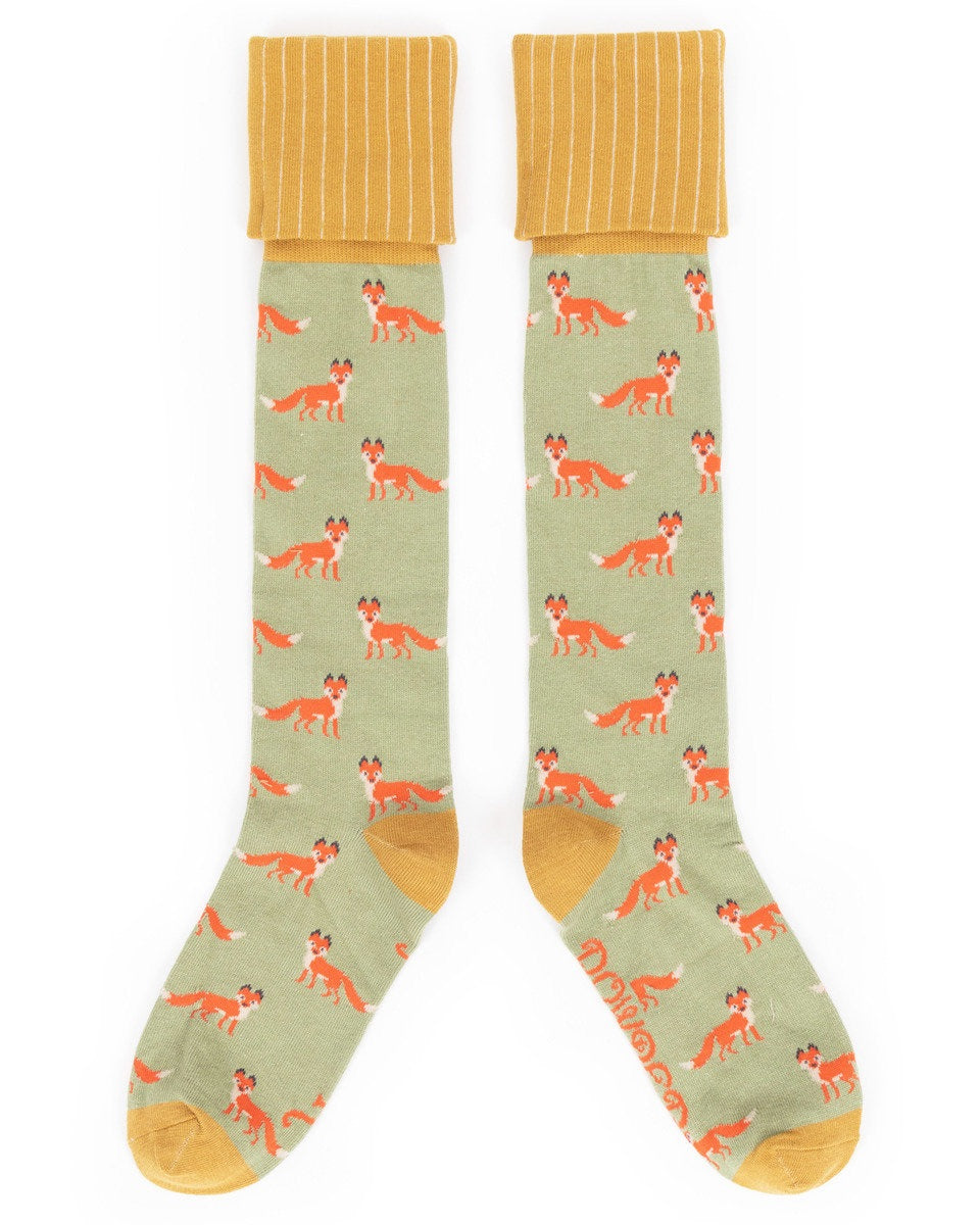 Ladies Boot Socks - Fox