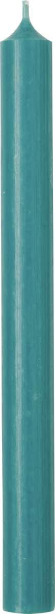 Turquoise Cylinder Candle - 25cm