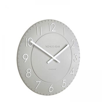 "12"" Townhouse Wall Clock - Smoke"