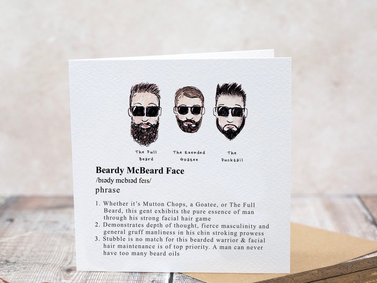 Beardy McBeard Face