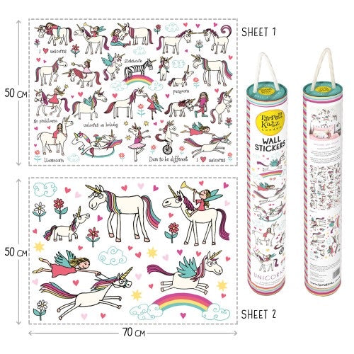 Wall Stickers - Unicorn