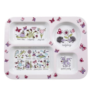 Compartment Tray - Secret Garden