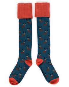 Ladies Boot Socks- Stag