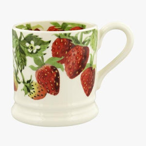 Emma Bridgewater Vegetable Garden Strawberries 1/2 Pint Mug