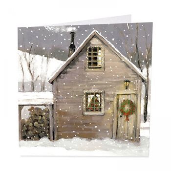 Christmas Lodge - Pack of 6 Christmas Cards
