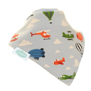 Fun Absorbant Baby Bandana - Planes