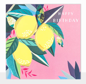 Happy Birthday - Lemons