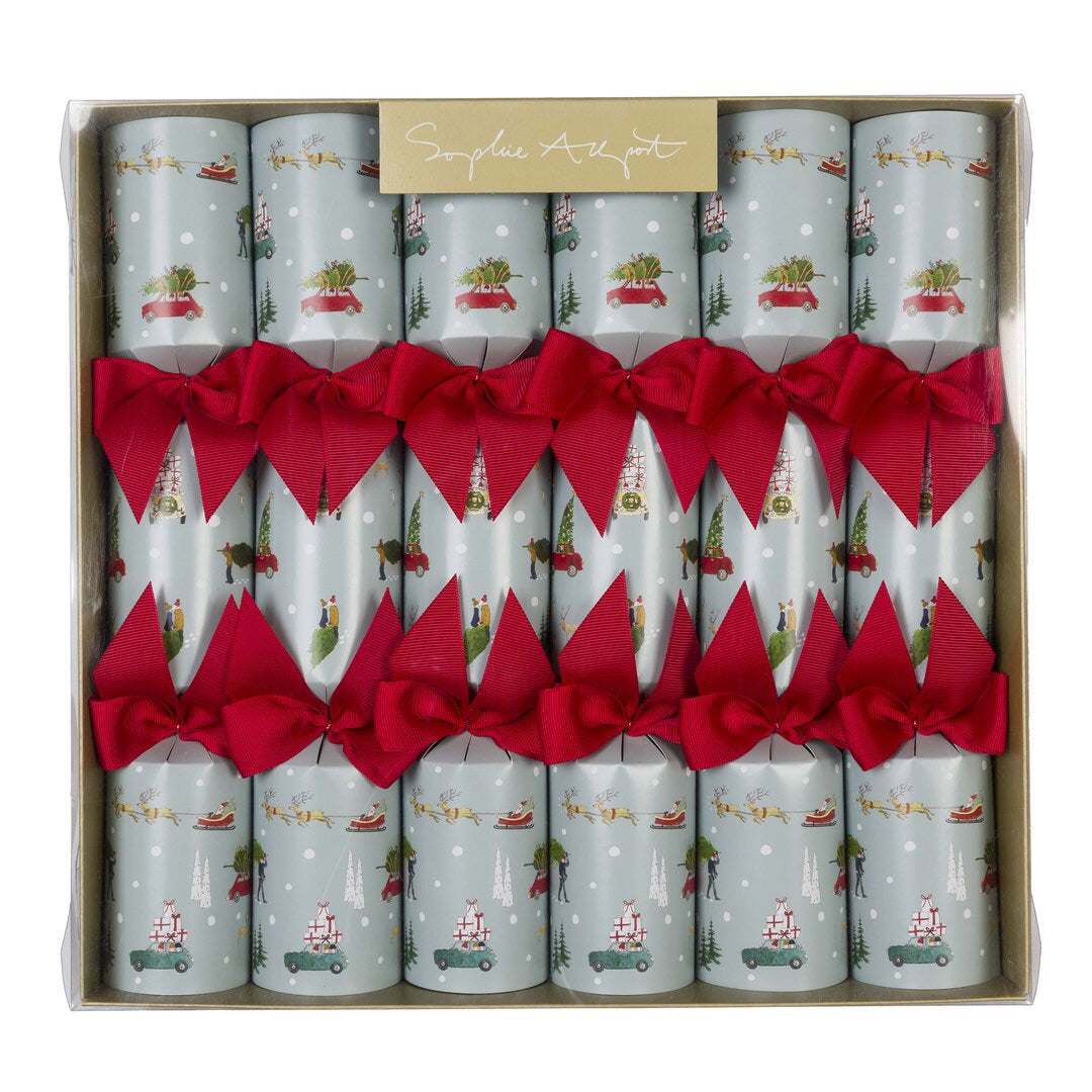 Christmas Crackers (set of 6) - 12 inches - Home for Christmas