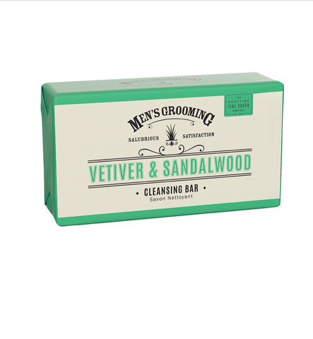 Vetiver and Sandalwood Cleansing Bar