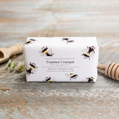 Honey & Camomile 190g Soap Bar