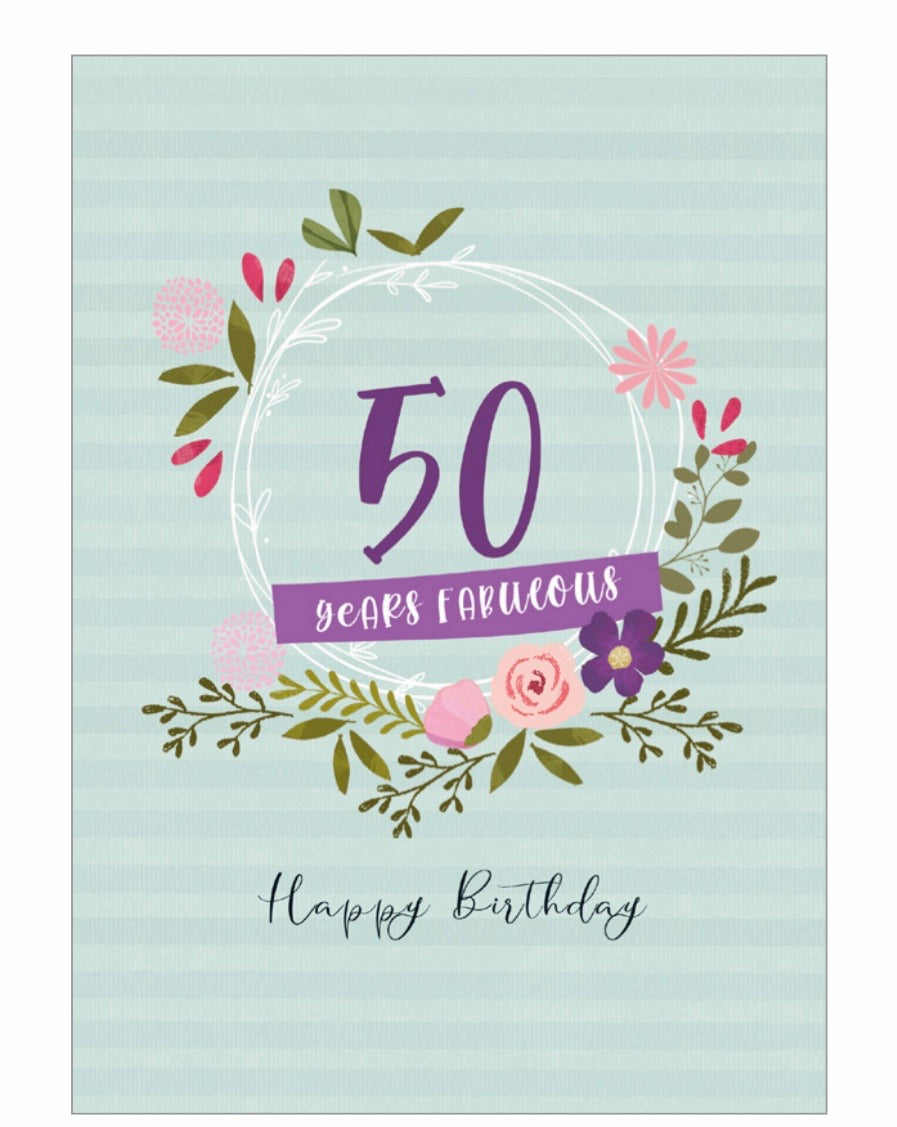 50 Years Fabulous