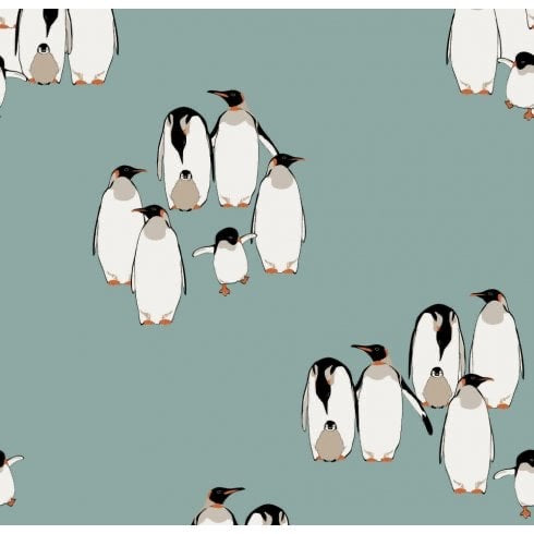 Scarf with Penguins