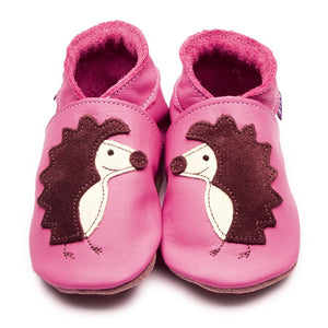 Inch Blue Baby Shoes - Spike Rose Pink