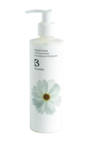 Hand Cream 250ml - with Lavender, Geranium & Petitgrain Essential Oils