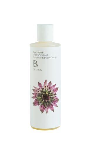 Body Wash 250ml - with Grapefruit, Lavender & Sweet Orange Essential Oils