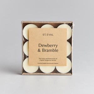cadeauxwells - Scented Tealight x 9 - Dewberry & Bramble - St Eval Candles -