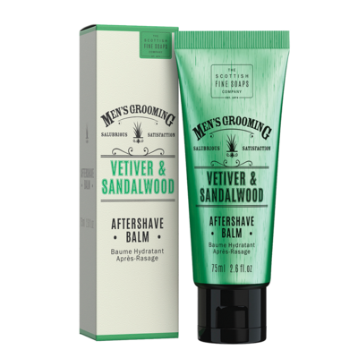 Vetiver and Sandalwood Aftershave Balm