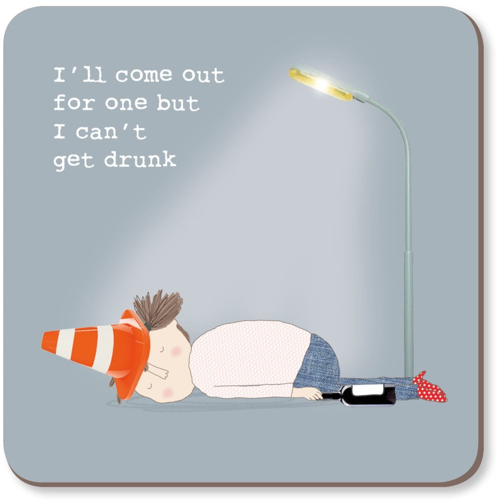 Can't get drunk - coaster