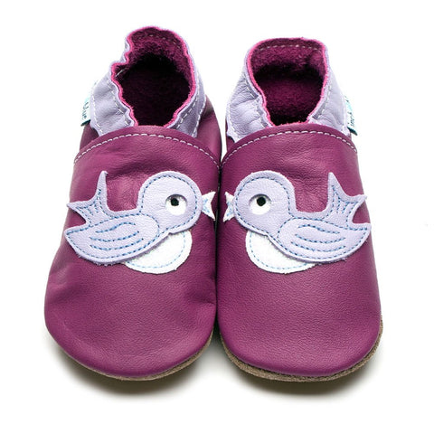 Inch Blue Baby Shoes - Bluebird Grape