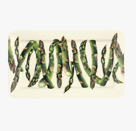 Spring Vegetable Asparagus Oblong Platter