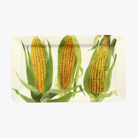 Emma Bridgewater Vegetable Garden Sweetcorn Medium Oblong Plate