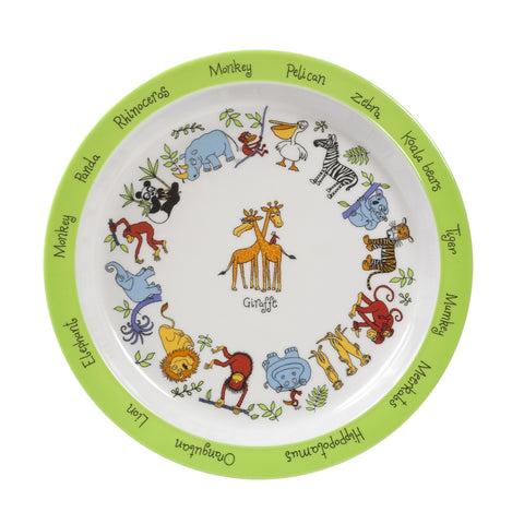 Melamine Plate - Jungle