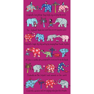 cadeauxwells - Towel - Elephants - Tyrrell Katz - Childrens