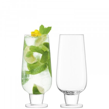 Set of 2 Rum Mixer Glasses