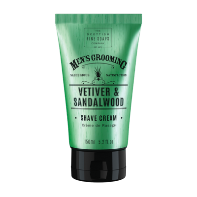 Vetiver and Sandalwood Shave Cream