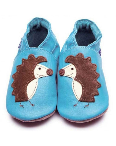 Inch Blue Baby Shoes - Spike Turquoise