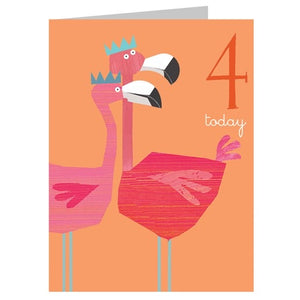 4 - Flamingoes
