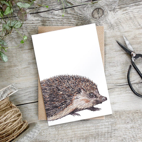 Pure Art - Hedgehog card