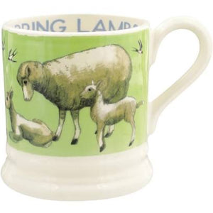 Bright New Morning Spring Lambs 1/2 Pint Mug