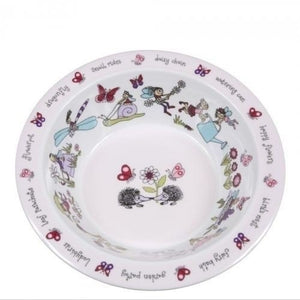 Melamine Bowl - Secret Garden