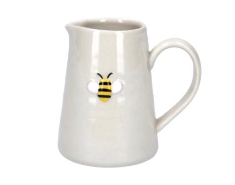 Ceramic Mini Jug With Bee