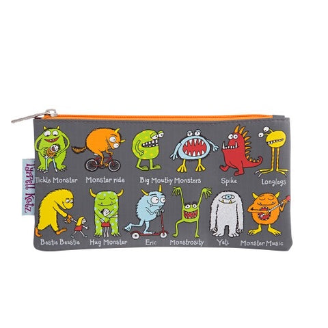 Pencil Case - Monsters