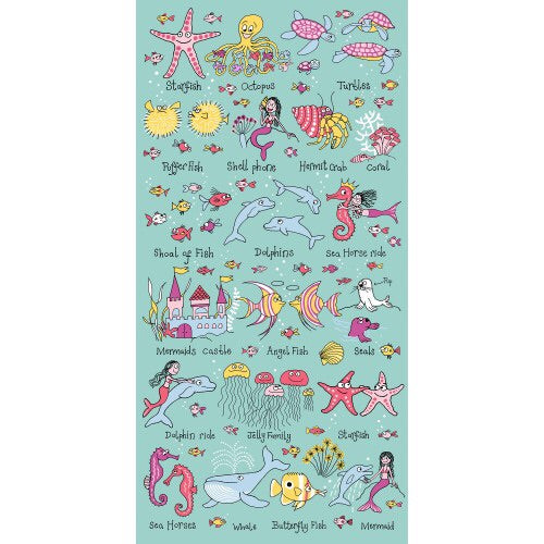 cadeauxwells - Towel - Under the Sea - Tyrrell Katz - Childrens