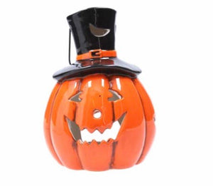 cadeauxwells - Ceramic Pumpkin/Top Hat Night Light - Gisela Graham - Seasonal