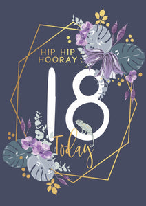 Hip Hip Hooray, 18 Today