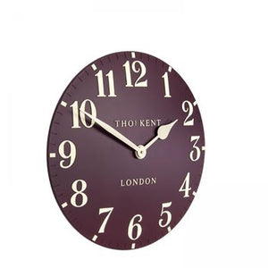 "12"" Arabic Wall Clock - Berry"