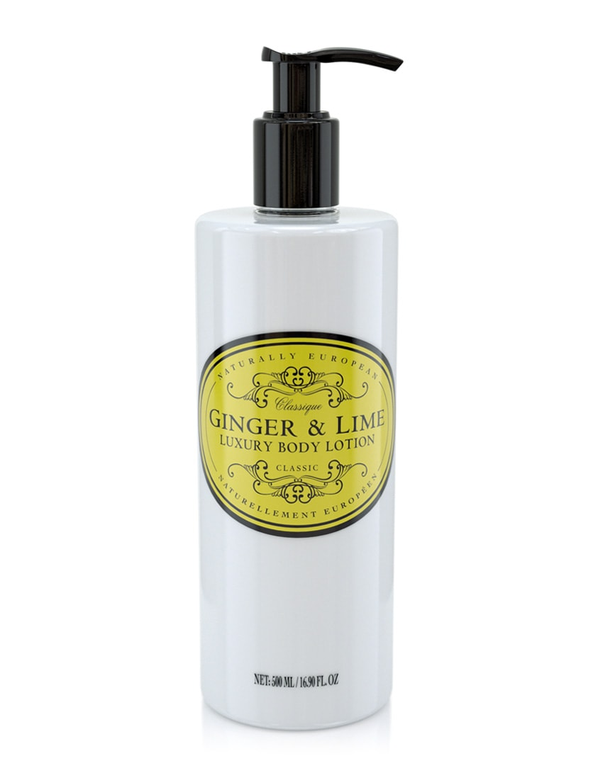 cadeauxwells - Naturally European Ginger & Lime Body Lotion - The Somerset Toiletry Company - Perfumery