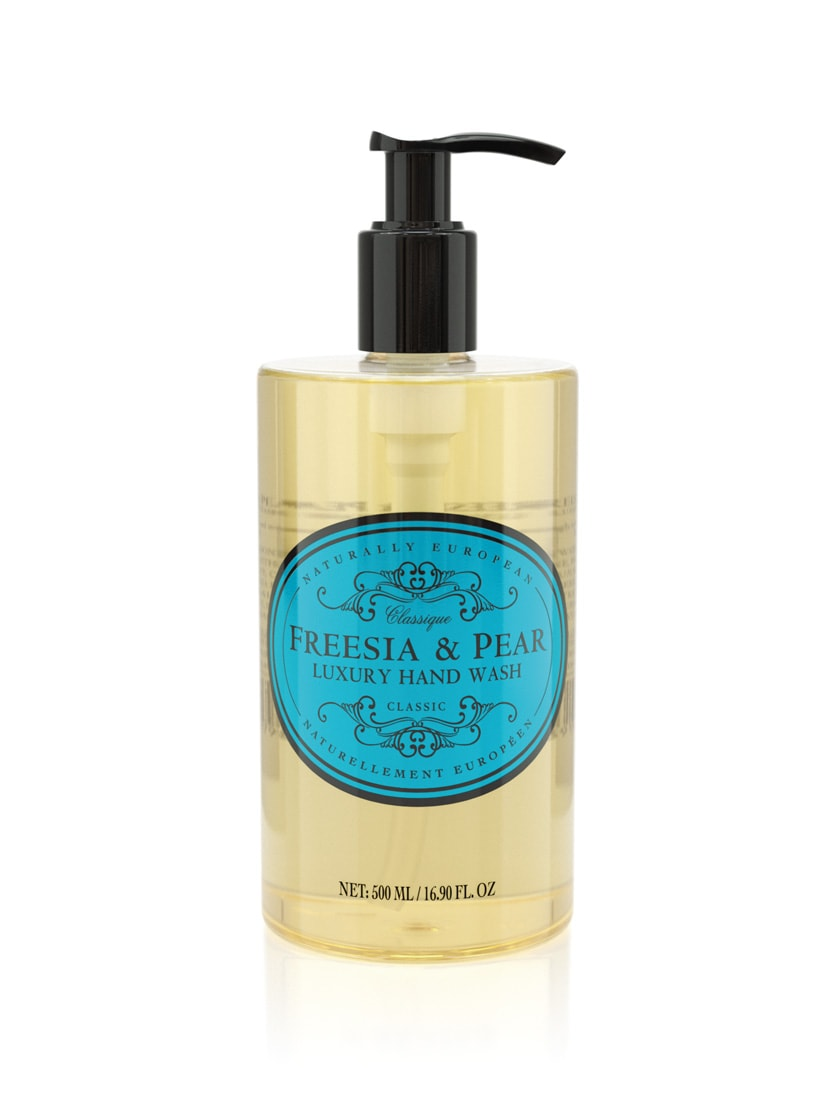 cadeauxwells - Naturally European Freesia & Pear Hand Wash - The Somerset Toiletry Company - Perfumery