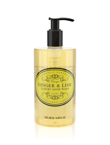 cadeauxwells - Naturally European Ginger & Lime Hand Wash - The Somerset Toiletry Company - Perfumery