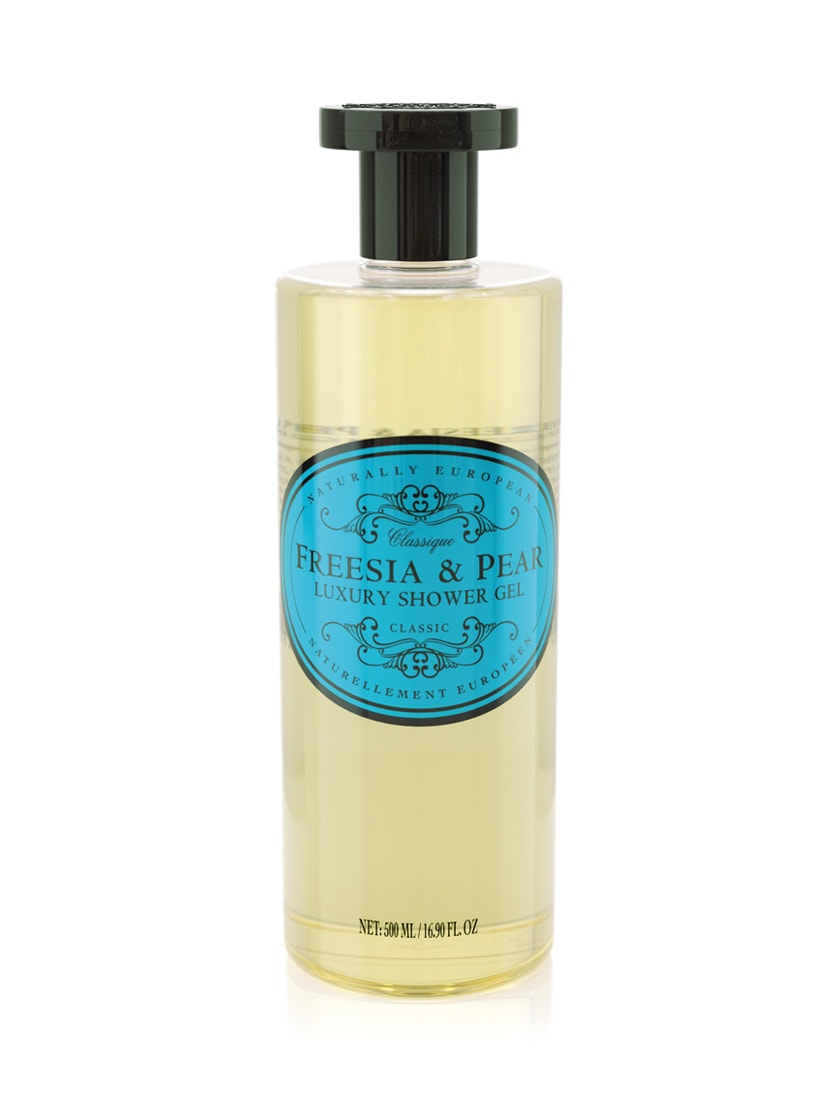 cadeauxwells - Naturally European Freesia & Pear Shower Gel - The Somerset Toiletry Company - Perfumery