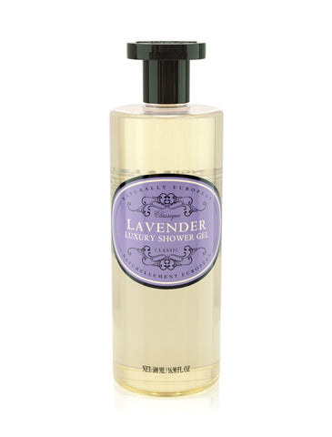 cadeauxwells - Naturally European Lavender Shower Gel - The Somerset Toiletry Company - Perfumery