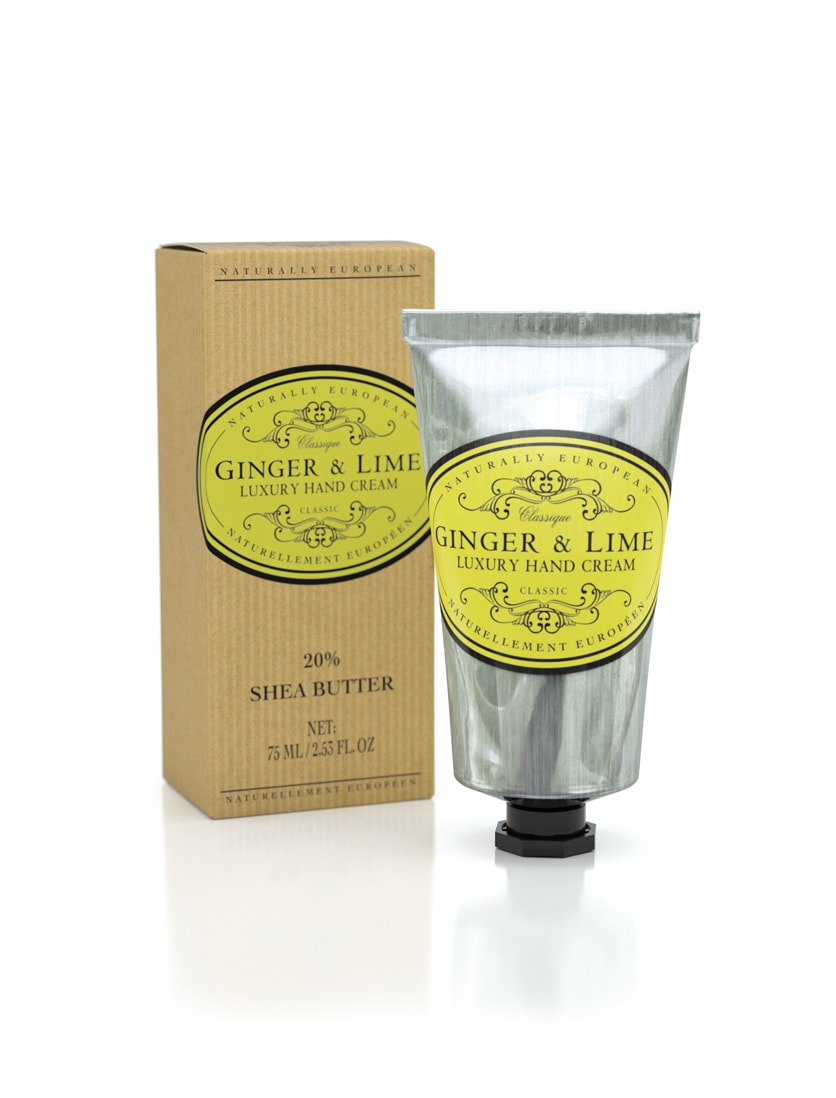 cadeauxwells - Naturally European Ginger & Lime Hand Cream - The Somerset Toiletry Company - Perfumery
