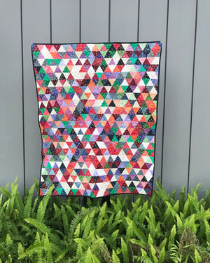 Swimming in Triangles Quilt