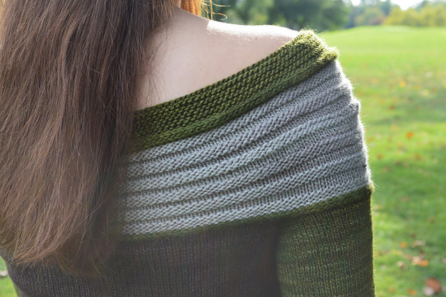 Grassy Armadillo - Knitting Sweater Pattern