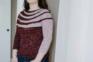Baton Rouge Sweater - Knitting Sweater Pattern